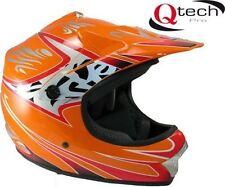 Caschi arancione fuoristrada per la guida di veicoli taglia S