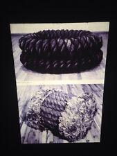 "Jackie Windsor ""Double Circle"" Post-minimalism Sculpture 35mm Art Slide"
