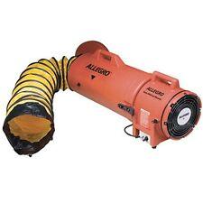 "Allegro 8"" AC COM-PAX-IAL Manhole Ventilation Blower w/ 25' Duct 9533-25"