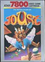 Joust (Atari 7800) New in the Box(NIB). New Old Stock(NOS NTSC