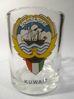 KUWAIT SHOT GLASS SHOTGLASS