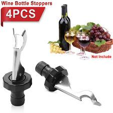 4set Best Wine Bottle Stoppers Keep Fresh Saver Vacuum Sealer Preserver Airtight