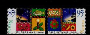 NAURU.  CHRISTMAS 1998  MNH.