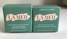 Lot Of Creme de LA MER The Moisturizing Cream &Soft Cream 0.25oz/7ml Authentic