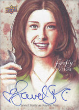 2015 Upper Deck Firefly the Verse Auto Autograph Jewel Staite Kaylee Frye