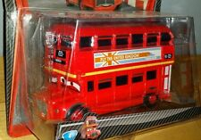 Disney Pixar CARS 2 Deluxe RED DOUBLE DECKER BUS #4 Mattel 2010