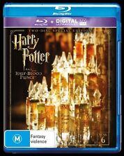 Harry Potter: Year 6 Special Edition Blu-Ray Region B