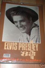 ELVIS PRESLEY OFFICIAL 1988 CALENDAR -DATES MATCH 2016, NEVER USED