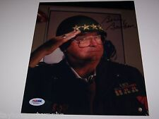 FLORIDA STATE COACH BOBBY BOWDEN Signed 8x10 RARE MILITARY PHOTO PSA CERTIFIED