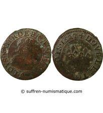 LOUIS XIII - DOUBLE TOURNOIS 1627 A PARIS