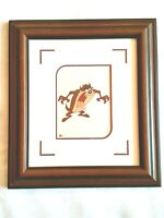 TAZ Art, Looney Tunes Warner Bros, Princess Cruise Line Auction, Matted Framed