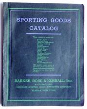 SPORTING GOODS CATALOG 1930s Babe Ruth Bat & Glove Fishing Tackle Bicycles Guns