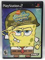 SpongeBob SquarePants Battle for Bikini Bottom (Sony PlayStation 2, 2003) PS2