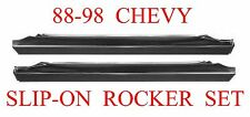 88 98 Slip-On Rocker Repair Panel Set, Chevy GMC Truck, L&R Sides, 1.2MM Thick!!