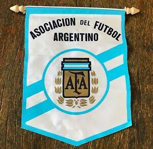 Argentina 1994 Official AFA soccer mini Pennant. Maradona Israel