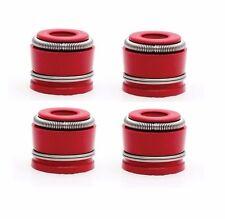 4x 700-100016  KibbleWhite Red Viton Valve Spring Seal Seals 71016-4
