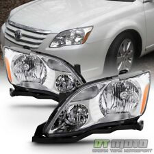 For Replacement 2005 2006 2007 Toyota Avalon Halogen Headlights lamps Left+Right
