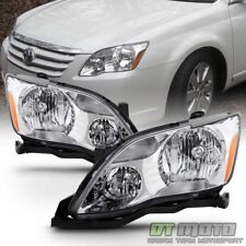 Replacement 2005 2006 2007 Toyota Avalon Halogen Headlights Headlamps Left+Right