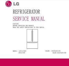 Lg Lfc21776D Lfc21776St Refrigerator Service Manual