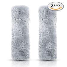 Premium Quality Comfy Faux Sheepskin Durable & Adjustable Car Seat Belt Pads