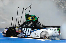 Nelson Piquet Jr SIGNED  NASCAR World Truck Series Victory , Michigan 2012