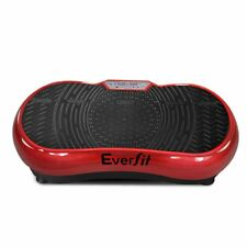Vibrating Exercise Machine Compact Platform Vibration Workout Weight Loss Red