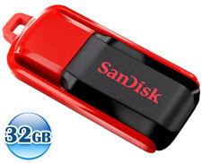 SANDISK CRUZER SWITCH CZ52 32GB 32G USB Flash Pen Key Thumb Drive Memory Stick