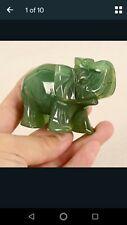 jade elephant figurine