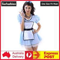 Sexy Adult Halloween Sweet Alice French Maid Costume M / L size #8394