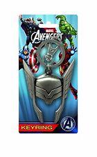 Marvel Thor Helmet Keychain NEW Pewter Keyring Toys Avengers Assemble