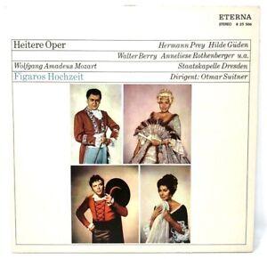 """Vinyl LP 12"""" Eterna 825506 - Heitere Oper - Figaros Hochzeit - Mozart (P3)"""