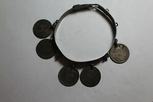 Seated Liberty Dime Bracelet Love Token