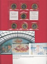 PRECURSORI EURO ALIGI SASSU 7 MONETE TIRATURA LIMITATA 500 Pz. Dicembre 2000