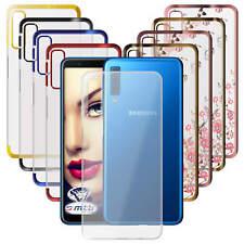 Hülle Samsung Galaxy S9 / S10 Handyhülle Cover Transparent Klar Durchsichtig TPU