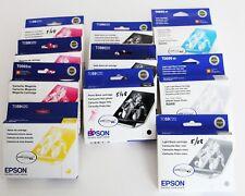 2008-2019 GENUINE 10 EPSON R2400 Inks  T059320 -T059920_T059820-T0572-T0592