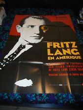 FRITZ LANG IN AMERICA - ORIGINAL HUGE FRENCH POSTER - 2005