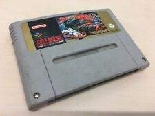 Super Street Fighter 2 II SNES PAL Reino Unido Super Nintendo-solo carro