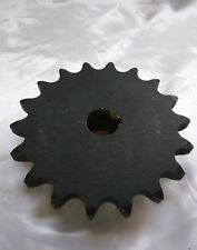 "Martin 80B18 #80 Single Row Sprocket 1"" Bore  Size 18 Tooth"