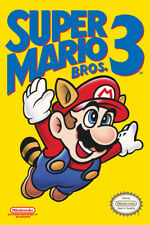 2014 NINTENDO SUPER MARIO 3 VIDEO GAME BOX COVER POSTER 24X36 NEW FREE SHIPPING