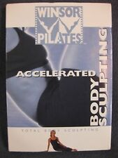 Mari Winsor Pilates Accelerated Total Body Sculpting Dvd Excercise Fitness Used
