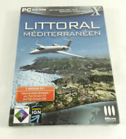 Jeu PC VF Add On Flight Simulator Littoral Mediterraneen Neuf scelle Envoi suivi