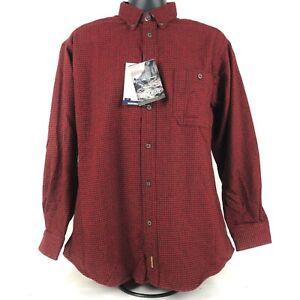 New Woolrich John Rich Bros. Men's Size M Wool Button Down shirt