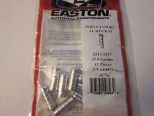 NEW Easton Arrow Aluminum RPS Inserts 2213 2215 610893 1 Dozen LOTS More Listed