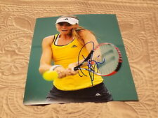 DANIELA HANTUCHOVA AUTOGRAPHED TENNIS 8X10 PHOTO W/COA