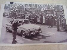 1955 STUDEBAKER MOBILGAS ECONOMY RUN WINNER   11 X 17  PHOTO  PICTURE