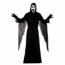 Adult Demon Ghost Halloween Fancy Dress Costume Scream Grim Reaper Ghost Face