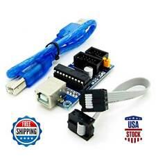 AVR ISP USBtinyISP Programmer for Arduino Bootloader USB Download Interface Set