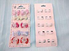 2 pack Baby Bow Design Hair Velcro Clip JH-0017