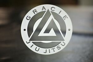 Brazilian Gracie Jiu-Jitsu Decal Stickers for Auto, Car Windows, Gear, Yeti