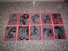 DYLAN DOG CARTOLINE FEMMINE FATALI N.1-3-4-5-6-7-8-9-10-12 ANCHE VENDITA SINGOLA
